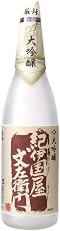 中野BC 大吟酿(纪伊国屋文左卫门) 红色 [ 日本酒 和歌山县 1800毫升 ]