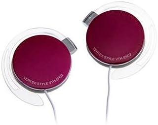 VERTEX 耳塞式耳机 粉色 VTH-EH02 PK
