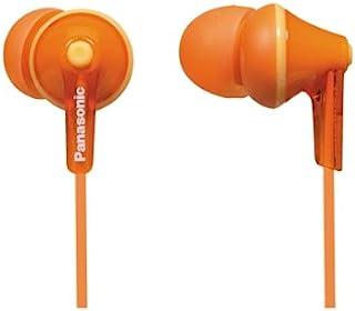 松下有线耳机 - 有线,橙色 (RP-HJE125-D)