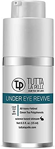 ALL-IN-ONE 眼部修复霜 - 全视黄醇 眼部修复眼部*眼部护理,眼部袋,细纹,皱纹 - 0.5 盎司