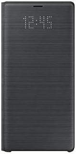 三星 Galaxy Note9 官方手机壳,LED 视图钱包式手机壳EF-NN960PBEGWW 黑色