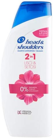 Head & Shoulders 光滑丝滑 2 合 1 *屑洗发水 + 护发素 - 3 包 54