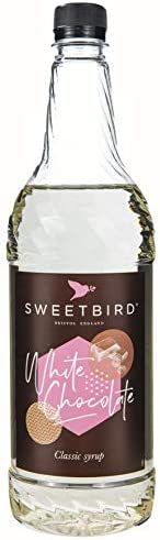 Sweetbird 白巧克力糖浆(1 升)