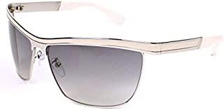 Police 男士 Hurricane-1-S8871-516X-95 太阳镜,银色,95