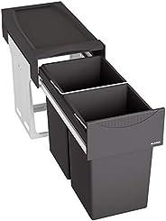 BLANCO 铂浪高 废物系统 棉质 II 30/2 金属 塑料 黑色 48.2 × 25.1 × 40