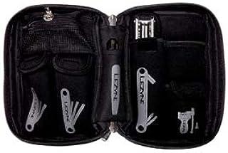 Lezyne Port-A-Shop S 中性成人工具套装,黑色