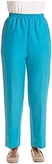 Alfred Dunner 女士小码比例短款聚乙烯加蓬长裤