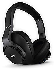 AKG (三星品牌)N700NC M2 头戴式可折叠无线耳机,主动降噪耳机 - 黑色(美国版本),2.6,型号:GP-N700HAHCIWA