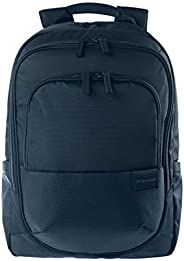 Tucano Stilo 商务背包,适用于17英寸笔记本电脑,带舒适的配置,符合人体工程学的拉杆箱带和手柄 - 蓝色