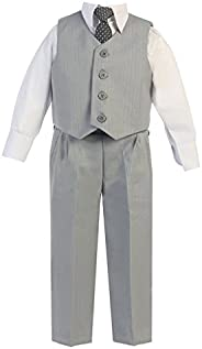iGirlDress 男童背心裤特殊场合复活节套装婴儿-14