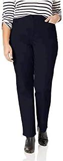 Gloria Vanderbilt 女士 Amanda 抛光长裤 *蓝 14 Short