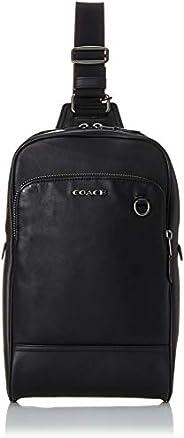 COACH 蔻驰 单肩斜挎包 男士 Qb/黑色 89934-1