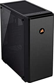 CORSAIR 海盗船 Carbide 系列 175R RGB,游戏电脑机箱(Mid Tower ATX 钢化玻璃,窗口)黑色