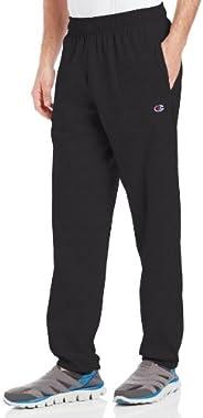 Champion 男子轻质平纹针织运动裤