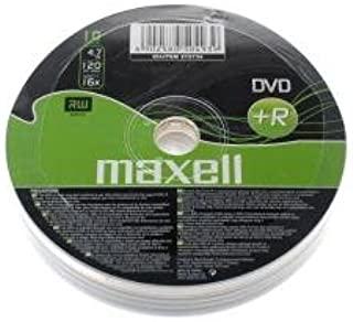Maxell DVD + R 4.7 GB 10 – Pk – DVD + RW 坯件(轴)