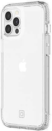 Incipio 超薄手机壳兼容 iPhone 12 Pro Max (6.7 英寸)[4.25 米防摔 I Qi 兼容外壳 I 非常坚固的手机壳 I 减震外壳] 透明