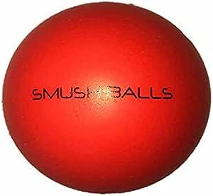 SMUSH BALLS Smushballs 终极随处击球练习棒球(红色,60)