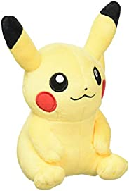 Pokemon Center Original 毛绒玩具 坐在上面的皮卡丘