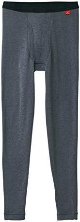 GUNZE 郡是 男士 秋褲 Hotmagic 保暖 內襯加絨 彈力 前開口 MH0701