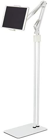 Elecom 宜丽客 平板电脑支架 Z臂型落地支架 支持5~12.9英寸 白色 TB-DSZARMFWH