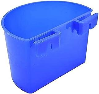 10 件鸟笼杯悬挂水杯鸟笼零食杯适用于鸡笼,带挂钩的塑料喂食和浇水用品喂食杯适用于家禽游戏猫头鹰兔子鸡鸽子