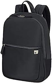 Samsonite 新秀丽 Eco Wave 笔记本电脑背包,14 英寸(40 厘米 - 13 升) 黑色(黑色) 14 Zoll (40 cm - 13 L)