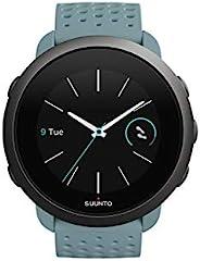 Suunto 3 - Gen.2 中性多功能手表不銹鋼/聚酰胺彩色顯示屏 苔* Einheitsgr??e