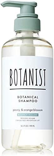 BOTANIST BOTANIST BOTANIST 植物洗发水 【BOTANIST 丰盈 490毫升 提取物 来自植物的护发 无硅 弹性蛋白 丰盈 指通型