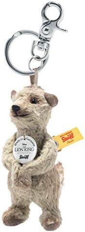 吊坠 4 英寸(约 10.2 厘米)Disney Timon 毛绒玩具,高级填充动物,深米色