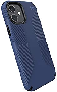 Speck Products Presidio2 Grip iPhone 12,iPhone 12 Pro 手机壳,海岸蓝/黑色/风暴蓝