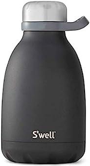 S'well 真空绝缘不锈钢水瓶 玛瑙黑 40oz 10540-B17-0