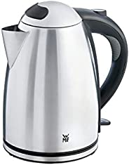 WMF 福腾宝 STELIO烧水壶,1.7升,2400W,水位指示灯照明,水垢过滤器,cromargan亚光/银色