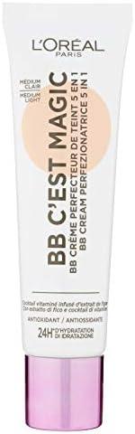 L'Oréal Paris 巴黎欧莱雅 BB Cream C'est Magic,BB 霜 5合1 30毫升,Medi