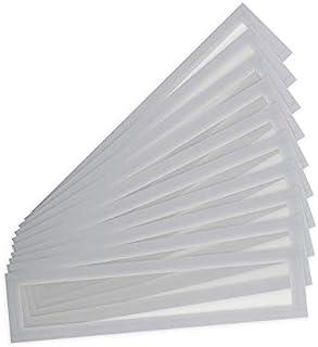 Tarifold Es 195219 – 每包 10 个磁性相框 A4/A3 (55 x 297 毫米) Magnet Pro 磁性白板 颜色 银色 灰色