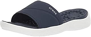 Crocs 女士 Reviva 一脚蹬凉鞋