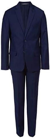 Van Heusen 男孩大条纹两件套西装
