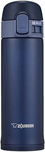 ZOJIRUSHI 象印 水杯 不銹鋼 水壺 直飲型 300ml 一鍵開啟式 藏藍色 SM-PC30-AD