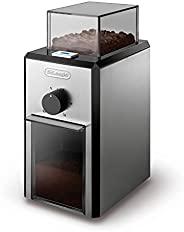 De'Longhi 德龙 KG 89 专业咖啡研磨机 (塑料材质,至多12杯容量),银色