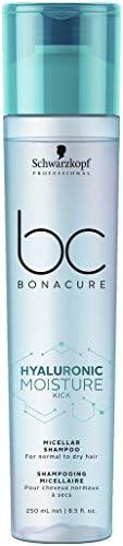 Schwarzkopf 施华蔻 专业BONACURE 透明质酸保湿微束洗发水,3 件装(3 x 250 毫升)