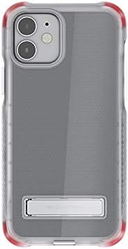 Ghostek Covert Clear 专为 iPhone 12 手机壳和 iPhone 12 Pro 手机壳金属支架兼容 MagSafe 和无线充电硅胶套 2020 iPhone12 5G 和 iPhone 12Pr