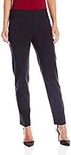 Briggs New York 女式小号超弹力千年贴边口袋套穿职业裤