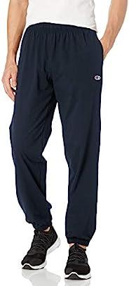 Champion 男士平纹针织收脚长裤