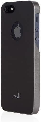 moshi - iGlaze - iPhone 5/5s/SE 手机壳 - 石墨黑