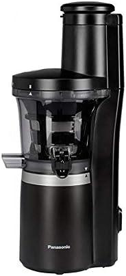 Panasonic 松下电器 慢速榨汁机 MJ-L700 (蔬菜/水果榨汁机,自动榨汁机,果汁冰糕制备,不锈钢/塑料,150W),哑光黑