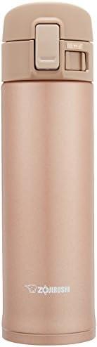 ZOJIRUSHI 象印 水杯 直饮式 不锈钢保温杯 480ml 玫瑰金 SM-KC48-NM