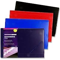 Premier Stationery h2911280 办公室隔间文件夹带 12 个隔层 - 多色(6 件装)