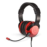 PowerA Fusion Wired Stereo Gaming Headset with Mic for PlayStation 4, Xbox One, X, Xbox One S, Xbox 360, Nintendo Switch, PC, Mac, VR, Android, and iOS - Crimson Fade - Xbox 360; Xbox
