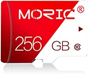 256GB 存储卡 Class 10 卡 Micro SD 卡 兼容电脑相机和智能手机存储卡 带 SD 卡适配器