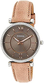 Fossil Women's Carlie Stainless Steel Casual Quartz W