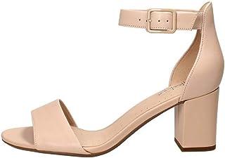 Clarks 女士Deva Mae踝带凉鞋